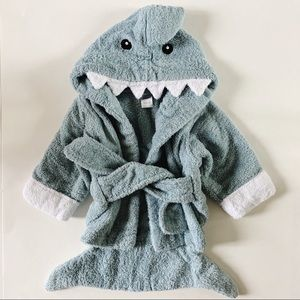 Baby Aspen Shark Towel Robe 0-9m